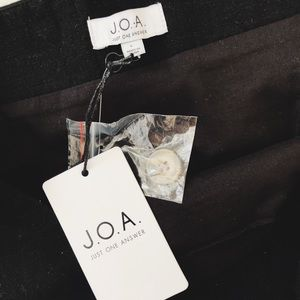 J.O.A. Skirts - J.O.A NWT Black Mini Skirt